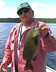 BIG Trophy Smallmouth Bass by Steve Pearson Canada