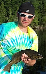 GREAT Smallmouth Bass Fishing by Shane in Canada