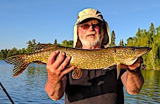 Northern Pike Fishing is Great at Fireside Lodge