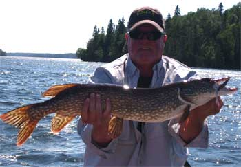 Fabulous Fishing for Northern Pike in Canada at Fireside Lodge
