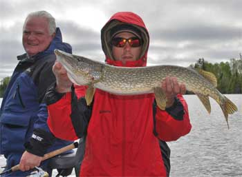 northern pike fishing lodge ontario