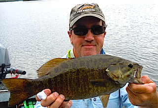 Master Anglers Trophy Smallmouth Bass Fishing by Tim