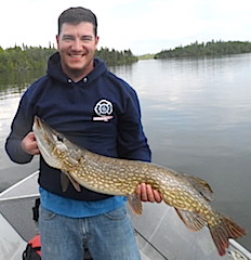 Great BIG Pike Fishing at Fireside Lodge by Brian