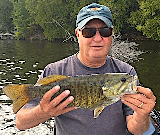Best Fishing Ever For Smallmouth Bass in Canada by Ric