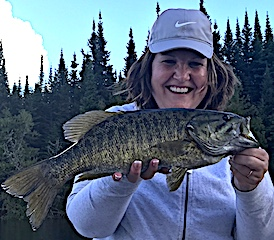 Trophy Smallmouth Bass are Exciting to Catch Fishing by DJ
