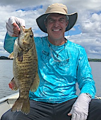Fly-Fishing For Trophy Smallmouth Bass by Brett at Fireside Lodge in Canada