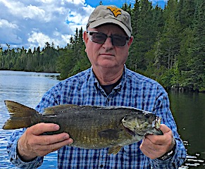 Mulitple Masetr Anglers Trophy Smallmouth Bass Fishing by Bob in Canada