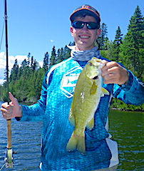 My 1st Smallmouth Bass Fly Fishing by Zach Klimes At Fireside Lodge in Canada