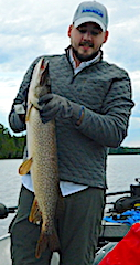 My Biggest Northern Pike Fishing ay Jake at Fireside Lodge in Canada