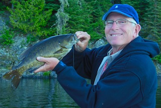 Trophy Smallmouth Bass Fishing in Canada by Steve Griffith