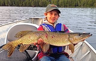 Northern Pike are Big Fishing at Fireside Lodge by Stephen Spahr