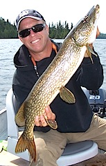 Terrific Northern Pike Fishing at Fireside Lodge Canada by Ron