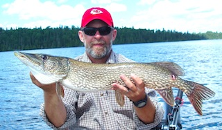 Great BIG Pike Fishing at Fireside Lodge Canada by Ron Ramsey