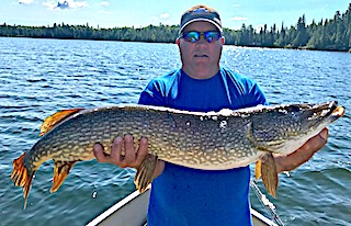 Trophy Northern Pike Fishing at Fireside Lodge in Canada by BOB