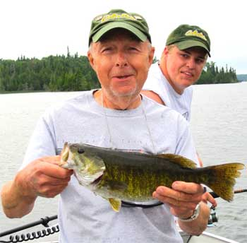 smallmouth bass fishing heaven in canada