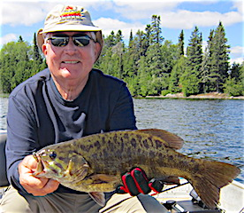 HUGE Trophy 20-inch Smallmouth Bass Fishing Jim McDonough