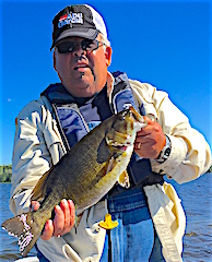 Giant Trophy Smallmouth Bass Fishing by Jerry Florea