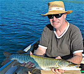 Great Time Muskie Fishing at Fireside Lodge by Paul Capecchi