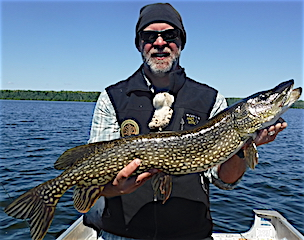 Fishing for BIG Northern Pike by Ron Ramsey