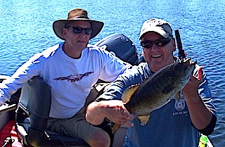 Trophy Smallmouth Bass Fishing by John Barlak at Fireside Lodge Canada