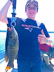 My 1st Trophy Smallmouth Bass Fishing at Fireside Lodge by Gianluca