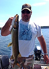 Fabulous Northern Pike Fishing at Fireside Lodge Canada by Ed Jr