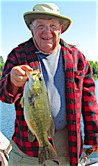 Many BIG Smallmouth Bass Fishing at Fireside Lodge