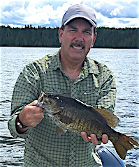 Fantastic Trophy Smallmouth Bass Fishing by Bill