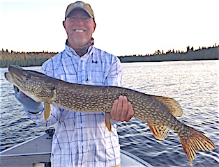 GREAT Fishing for Large Northern Pike by Mike Ramsey