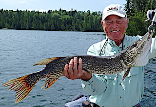 Love Fishing in Northern Ontario Canada at Fireside Lodge by Bob