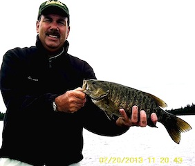 Trophy Fishing for Smallmouth Bass at Fireside Lodge Canada  by Bill