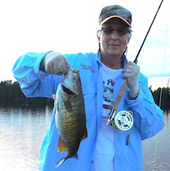 Trophy Smallmouth Fly-Fishing at Fireside Lodge Canada by Leah Bezin