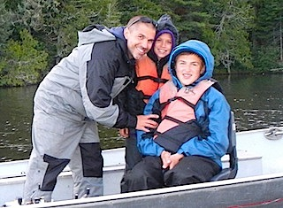 Family Fun Fishing at Fireside Lodge Canada