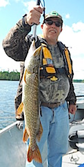Terrific Northern Pike Fishing at Fireside Lodge