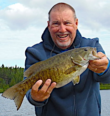 Trophy Smallmouth Bass Fishing is Best at Fireside Lodge in Canada