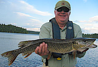 First Time Fishing in Canada was Fabulous at Fireside Lodge by Paul Lampier