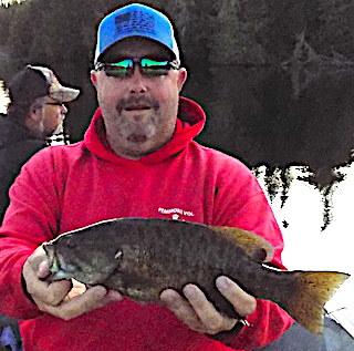 Fishing Canada for Smallmouth Bass is GREAT by Mark