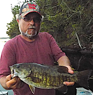 First Canadian Fishing Trip for BIG Smallmouth Bass at Fireside Lodge by Timmy