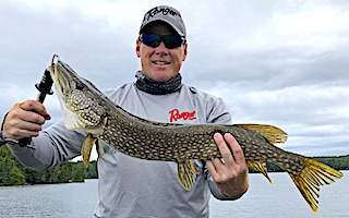 Northern Pike Fishing is Fabulous at Fireside Lodge in Canada by Jeff