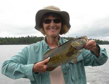 smallmouth fishing lodge in canada with trophies
