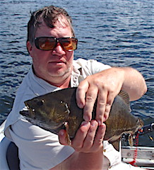 Trophy Smallmouth Bass Fishing by Scott Williams