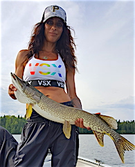 1 of Many BIG Northern Pike Fishing by Jennie