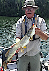 Dave Northern Pike Fishing