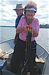 Great Fun Northern Pike Fishing by Janet Kline