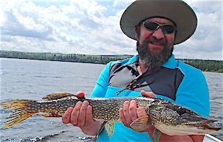 Northern Pike Fishing is a Blast by Craig