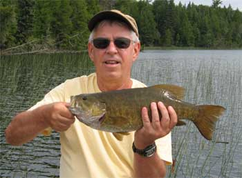 super fishing for trophy smallmouth at canada lodges