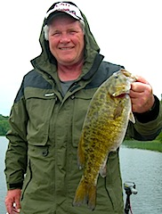 Another Trophy Smallmouth Bass Fishing at Fireside Lodge by Bob