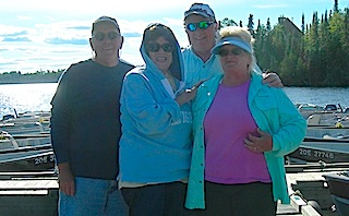 Friends Making Memories Fishing at Fireside Lodge Canada