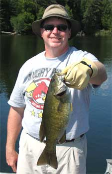 Terrific Fishing at Fireside Lodge for BIG Smallmouth Bass Canada