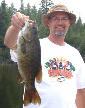Trophy Smallmouth Bass in Canada at Fireside Lodge are Common